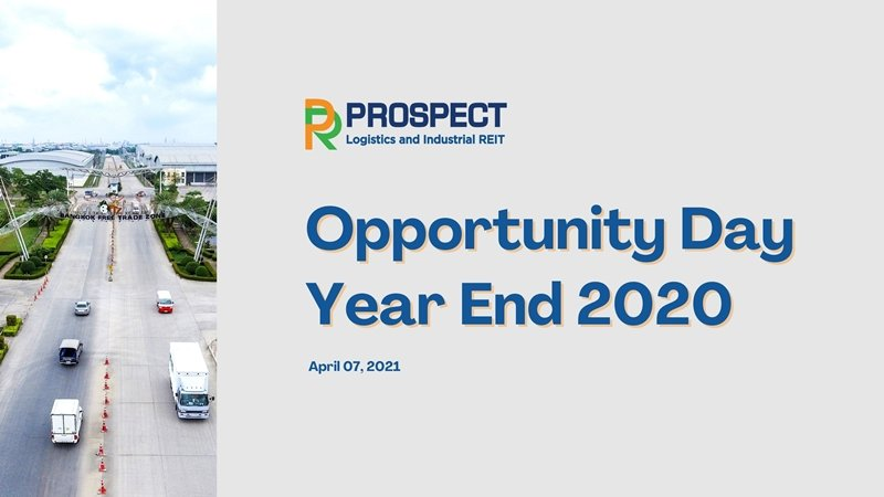 PROSPECT Opportunity Day Year End 2020
