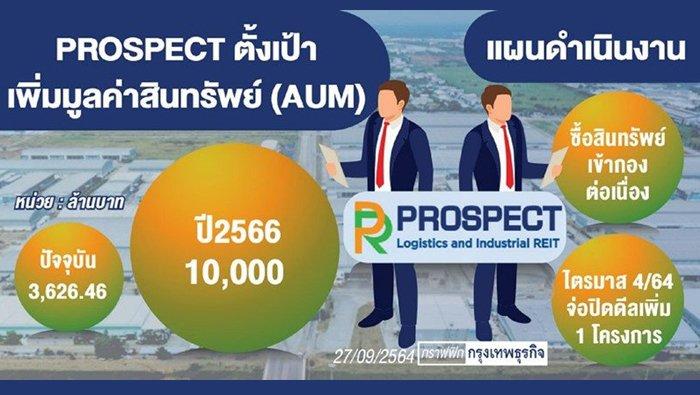 PROSPECT ลุยซื้อทรัพย์เข้ากอง ตั้งเป้า 3 ปีแตะหมื่นล้าน
